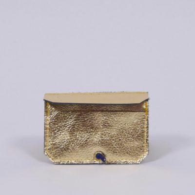 Goldenes Leder-Portemonnaie
