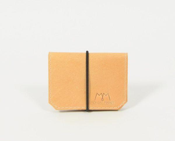 Braunes Leder-Portemonnaie